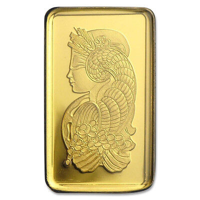 ONE GRAM GOLD BAR ~ PAMP SUISSE (IN ASSAY) ~ 1c START, NO RESERVE, FREE SHIPPING