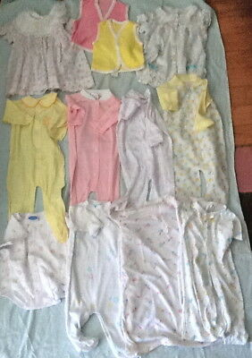 Lot INFANT Baby Clothes Gowns Sleepers Dresses More