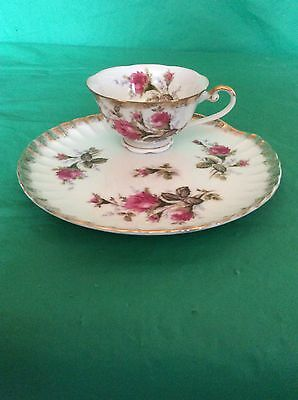 Shafford Hand Painted China Japan Cup & Saucer