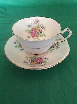 Gladstone Bone China England Cup & Saucer