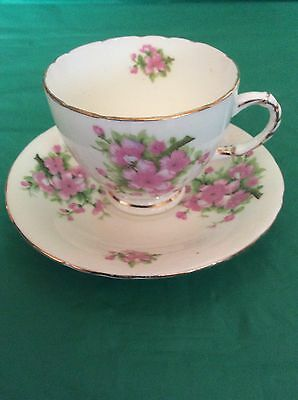 H.m.suttherland Bone China England Cup & Saucer