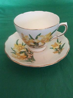 Royal Vale Bone China England Cup & Saucer
