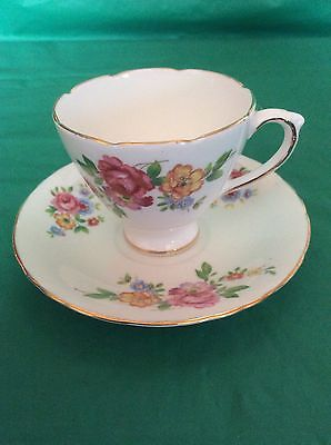 Sutherland H.m.bone China England Cup & Saucer