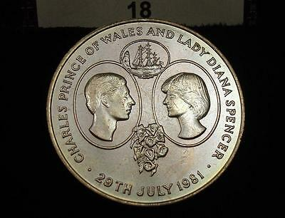 1981 GREAT BRITAIN 25 PENCE Wedding of Prince Charles and Lady Diana #18