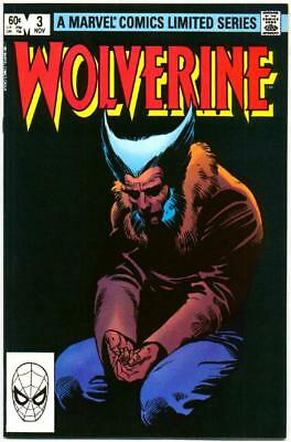 Wolverine Limited Series 3 Nm- 9.2 High Grade Marvel Bronze Age Frank Miller Nr!