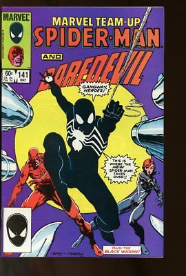 Marvel Team-Up #141 Very Fine- Daredevil / Spider-Man New Costume 1984 Marvel