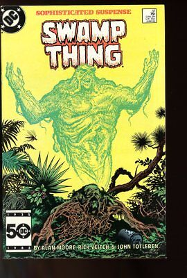 SAGA OF THE SWAMP THING #37 FINE+ 1st JOHN CONSTANTINE 1985 DC COMICS