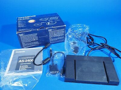 Olympus AS-2400 Dictation / Transcription foot Pedal Kit - Pedal +Cable Only