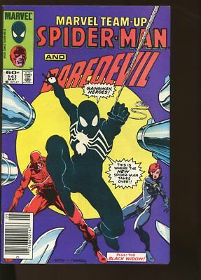 Marvel Team-Up #141 Fine+ Daredevil / Spider-Man New Costume 1984 Marvel Comics