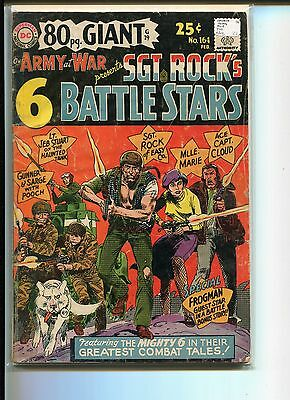 Our Army At War 164 Gd-Vg Navajo Ace Sgt Rock Mlle. Marie Hanted Tank 1966