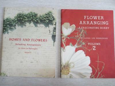 E87 Vintage 1942 Coca~Cola Premiums Flower Arranging and Homes and Flowers