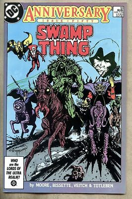 Swamp Thing #50-1986 nm 9.4 Giant-Size / 1st full Justice League Dark Alan Moore