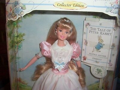 barbie collector edition the tale of peter rabbit
