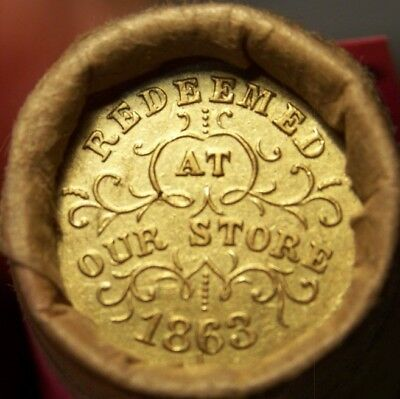 1905 Indian/civil War Token Ends Mixed Antique Roll As Shown In Pictures #9227