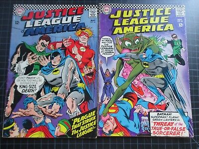Dc Justice League Of America #44,49