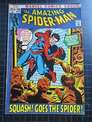 Marvel Amazing Spider-Man #106