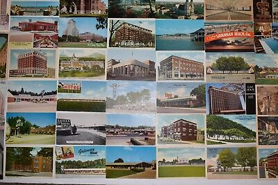 Vintage POSTCARD Lot of 40 Different Vintage Postcards Uncirculated MIXED Cards