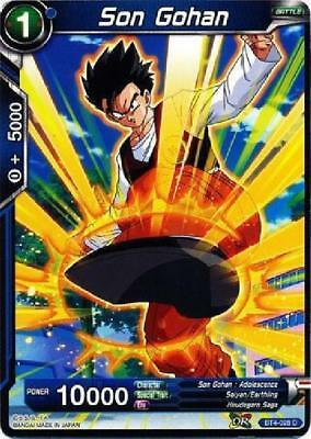 TB2-021 x4 4x Cards Dragon Ball Super CCG Mint Top of His Game Son Gohan