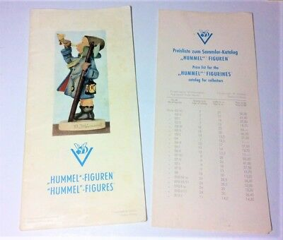 Vintage Hummel Figures Catalog Goebel Germany