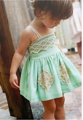 NWT Girls Boutique Well Dressed Wolf Mint Tunic & Bloomers Size 5