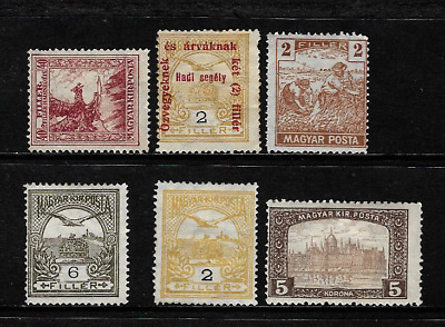 Hungary ... A Hungarian collection of Old Mint postage stamps .. 009281