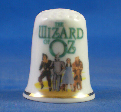 Fine Porcelain  China Thimble - Wizard Of Oz The Musical -- Free Gift Box