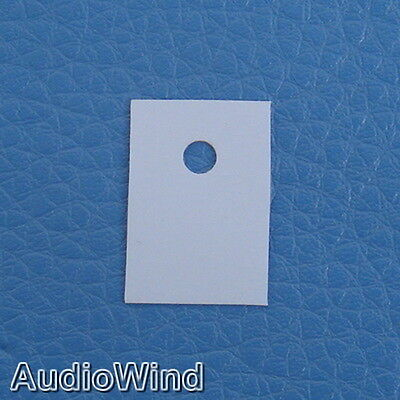 50pcs TO-220 Transistor Silicon Insulator,Insulation sheet.