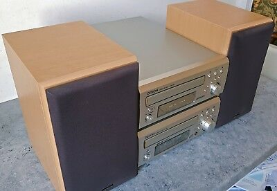 Denon D-M30 UD-M30 HiFi System with Denon SC-M50 Speakers made by Mission &