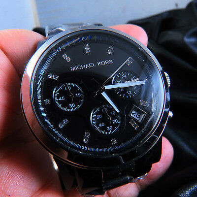 New Old Stock Michael Kors  Chronograph 24 Hours Quartz Men  Watch
