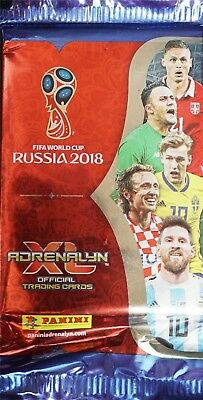 Panini Adrenalyn XL World Cup Russia 2018 Trading Cards 25 Booster