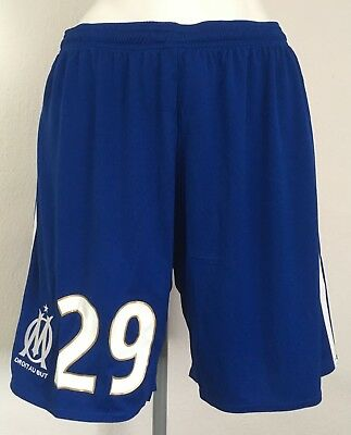 OLYMPIC MARSEILLE 2017/18 AWAY SHORTS No29 BY ADIDAS SIZE ADULTS LARGE BRAND NEW