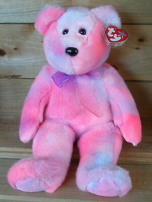 Ty Beanie Buddy Clubby 5th Anniversary Edition, Teddy, ca. 34 cm