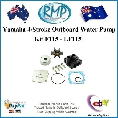A New 4/Stroke Yamaha Outboard Water Pump Kit Suits F115 - LF115  R 68V-W0078-00