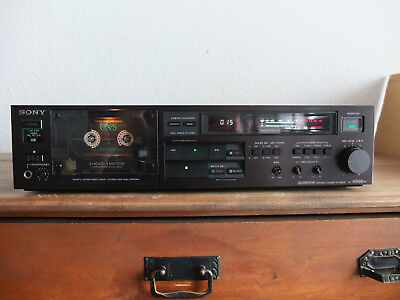 Sony TC K 666 ES Tapedeck TOP !!! Reinschauen !!!