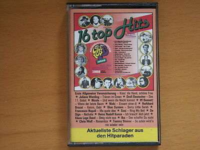 MC Kassette 16 Top Hits Schlager