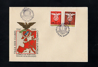 Portugal 1963 Benfica European Football Championship First Day Cover Lisboa Cds