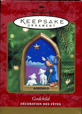 2000 Hallmark Keepsake Ornament ~ Godchild