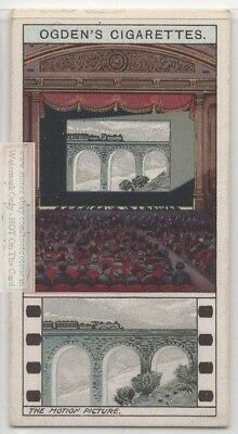 Motion Picture Motion And Persistence Of Vision   c90 Y/O Trade Ad Card