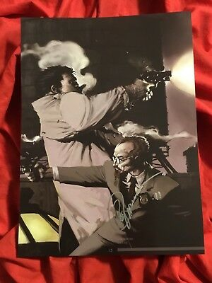 SAM AND TWITCH COVER ART PRINT~CROSS~SIGNED BY GREG CAPULLO 2011~SPAWN McFARLANE