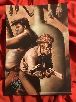 SAM AND TWITCH COVER ART PRINT~TANK~SIGNED BY GREG CAPULLO 2011~SPAWN McFARLANE