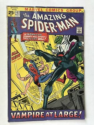 AMAZING SPIDER-MAN #102 November 1971  2nd Morbius Marvel UNREAD