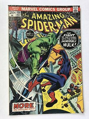 AMAZING SPIDER-MAN #120 May 1973 Vintage UNREAD Hulk