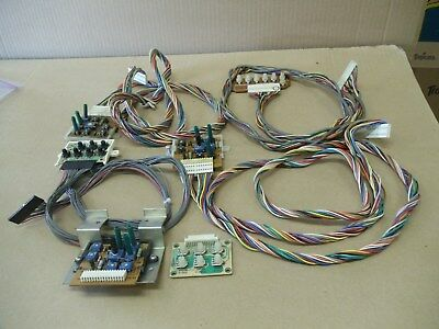 Monitor Adjustment boards Sharp Image & wiring video arcade game parts or repair