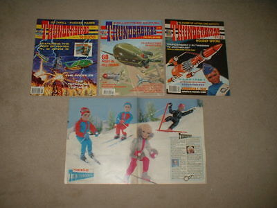 2 x THUNDERBIRDS Comic - THE Collection/The Collection No 2 + Newspaper Cutting