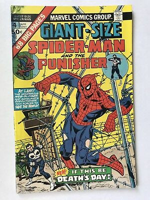 GIANT SIZE AMAZING SPIDER-MAN #4 October 1974 The Punisher Marvel