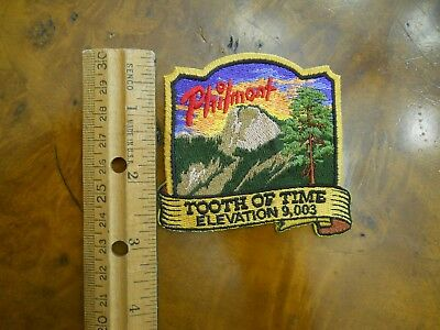 Philmont Tooth Of Time Patch (New With Tags)