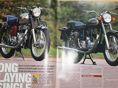 Rare ROYAL ENFIELD BULLET 350 & 500 REDDITCH & MADRAS BUY/OWN GUIDE Classic Bike