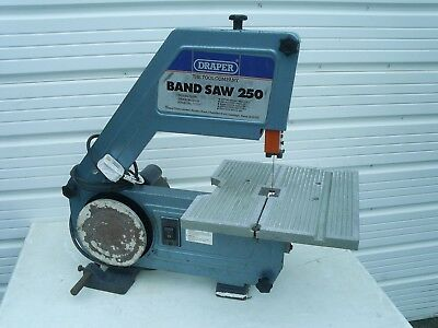 Draper 250 Band Saw Fully Working Order. Good Cond Portable