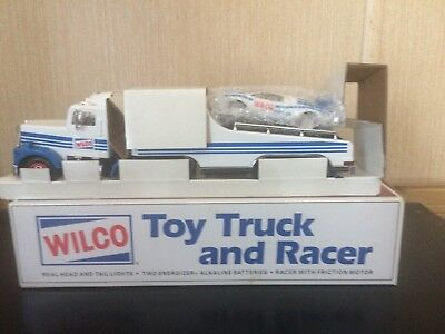 Wilco 1992 Toy Truck And Racer Nib