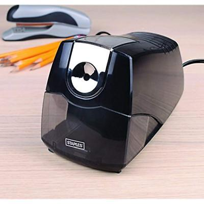 Power Extreme Electric Pencil Sharpener, Heavy-Duty, Black